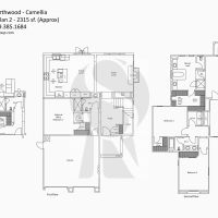 Irvine Northwood Camellia B Plan 2 - 2315 sf