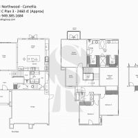 Irvine Northwood Camellia C Plan 3 - 2460 sf