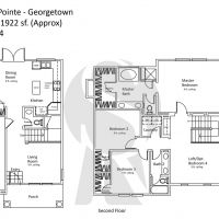 Irvine Northwood Pointe Georgetown A Plan One - 1922 sf