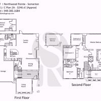 Irvine Northwood Pointe Somerton C Plan 2A - 3246 sf