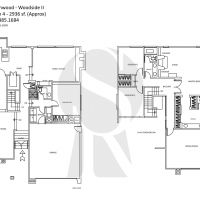 Irvine Northwood Woodside II J Plan 4 - 2936 sf