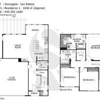 Irvine Stonegate San Mateo Residence 1 - 1636 sf