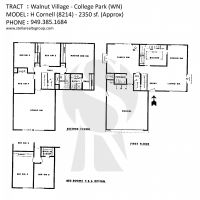 Irvine Walnut Village College Park WN H Cornell 8214 - 2350 sf