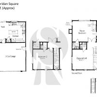 Irvine West Irvine Sheridan Square A Plan 1 - 2273 sf