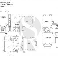 Newport One Ford Road Summer House A Plan 1 - 3094 sf